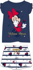 Disney dievčenská súprava Minnie 98 modrá