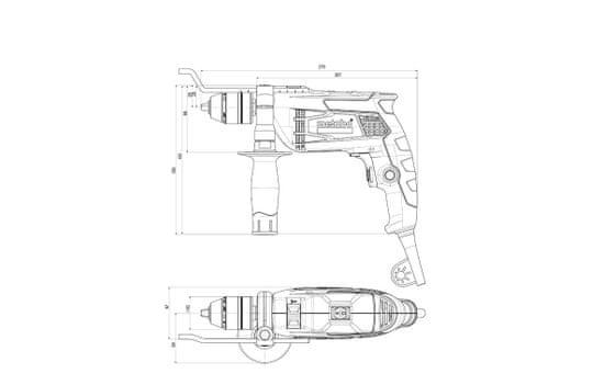 Metabo udarni vrtalnik SBE 650 Impuls (600672500)