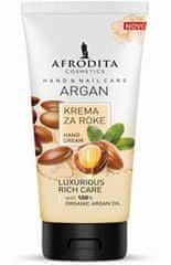 Kozmetika Afrodita Argan, razkošna krema za roke in nohte, 100 ml
