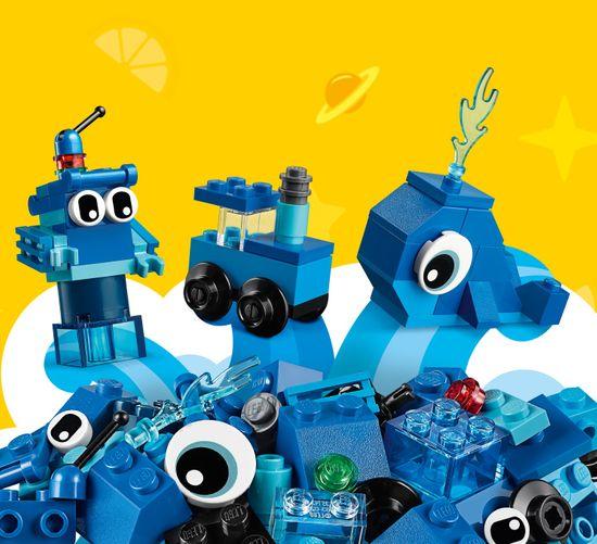LEGO kreativne kocke Classic 11006, modre