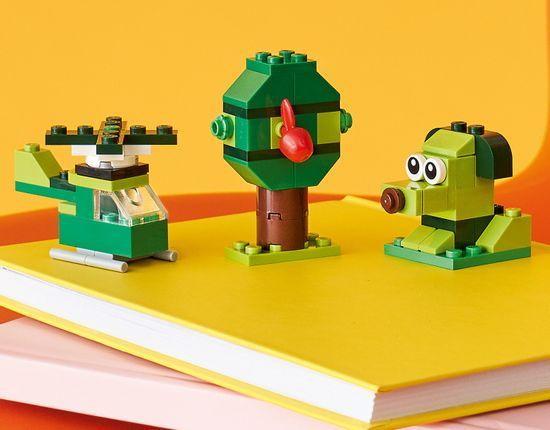 LEGO Classic 11007 Zielone klocki kreatywne