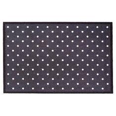 FLOMA Vnitřní čistící vstupní rohož Mondial Dots - délka 50 cm a šířka 75 cm