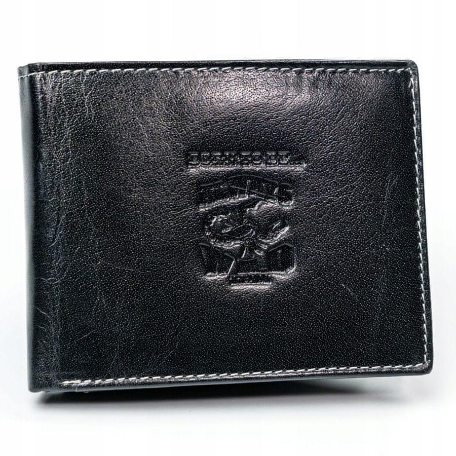 Always Wild Pánská kožená peněženka Johnny černá