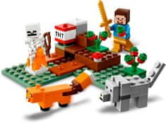 LEGO Minecraft 21162 Pustolovščine v Tajgi