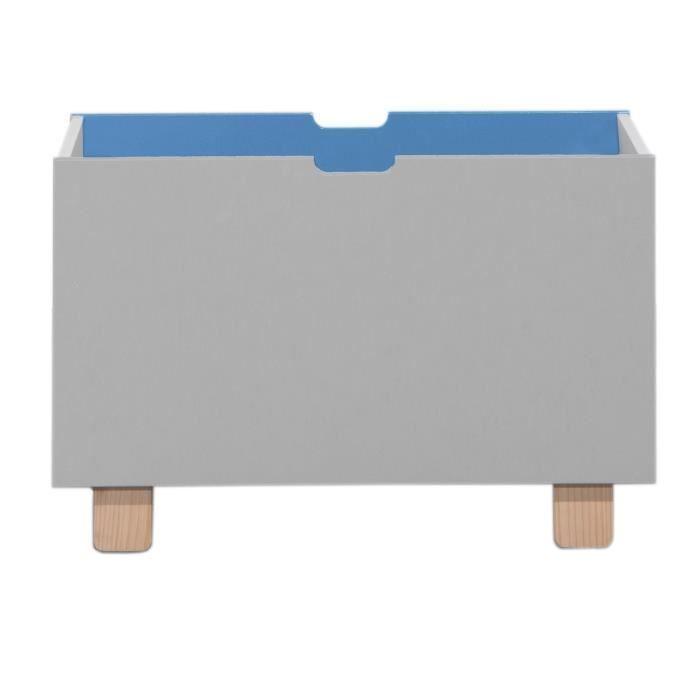 Marmot úložný box na hračky- modrá/perlově šedá