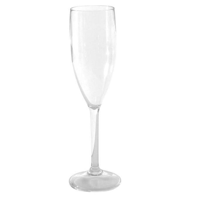Midland polykarbonátové sklenice na šampaňské, 3 ks