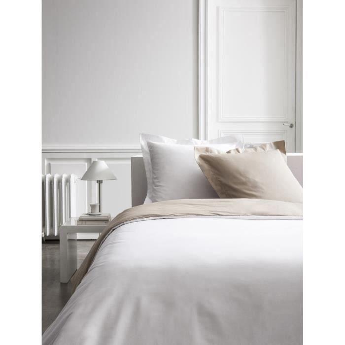 Today luxusní povlečení 240x260 cm, béžová/ bílá
