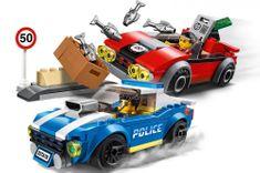 LEGO City Police 60242 Rendőrségi hajsza az autópályán