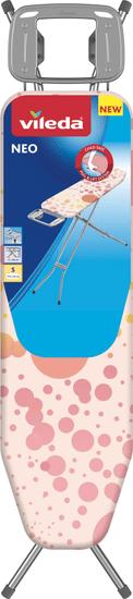 VILEDA Neo Star vasalódeszka, 114x33 cm, rózsaszín