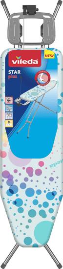 VILEDA Star Plus vasalódeszka, 120x38 cm, kék