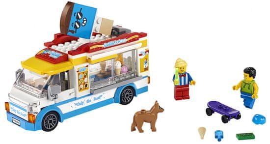 LEGO City Great Vehicles 60253 Furgonetka z lodami