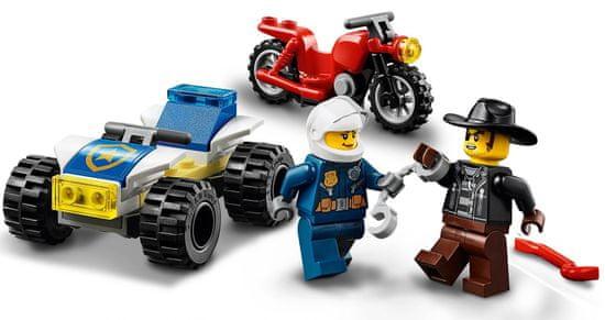 LEGO City Police 60243 Sledenje s policijskim helikopterjem