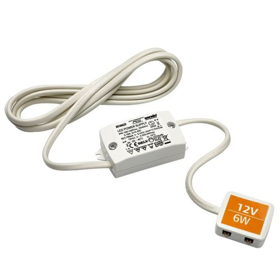 Sensio LED transformator, 4 vhodi, 6 W, 12 V (SE40625)