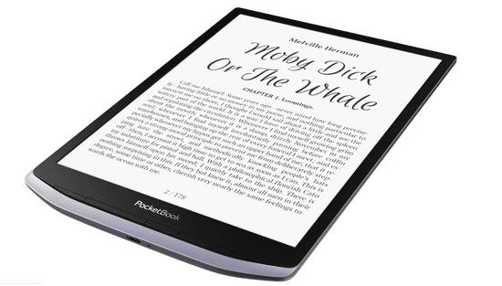 PocketBook InkPad X elektronski bralnik, siv