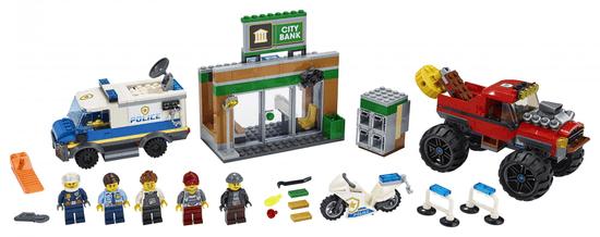 LEGO City Police 60245 Rop s pošastnim tovornjakom