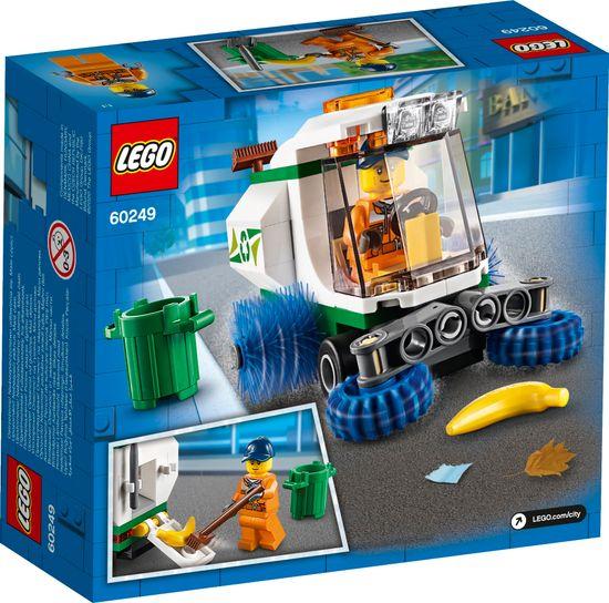 LEGO City Great Vehicles 60249 Zamiatarka