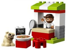 LEGO DUPLO® Town 10927 Štand s pizzom