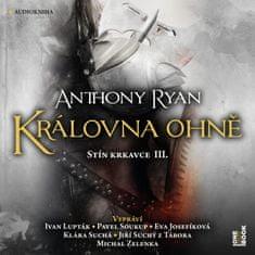 Ryan Anthony: Královna ohně - Stín krkavce III. (3x CD) - MP3-CD