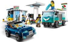 City 60257 Benzínová stanice