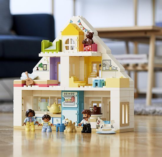 LEGO DUPLO® Town 10929 Igra v hiši