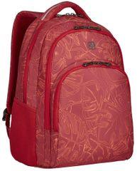 "Wenger COLLEAGUE - 16"" batoh na notebook, červený fern print (606468)"