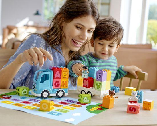 LEGO DUPLO 10915 Tovornjak z abecedo