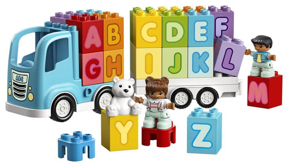 LEGO DUPLO 10915 Náklaďák s abecedou