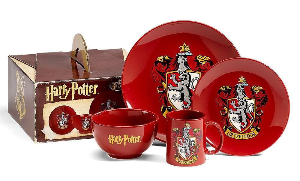 Harry Potter Velký dárkový set nádobí Harry Potter - Nebelvír