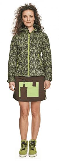 CRV Dámská softshellová bunda Yowie Flower