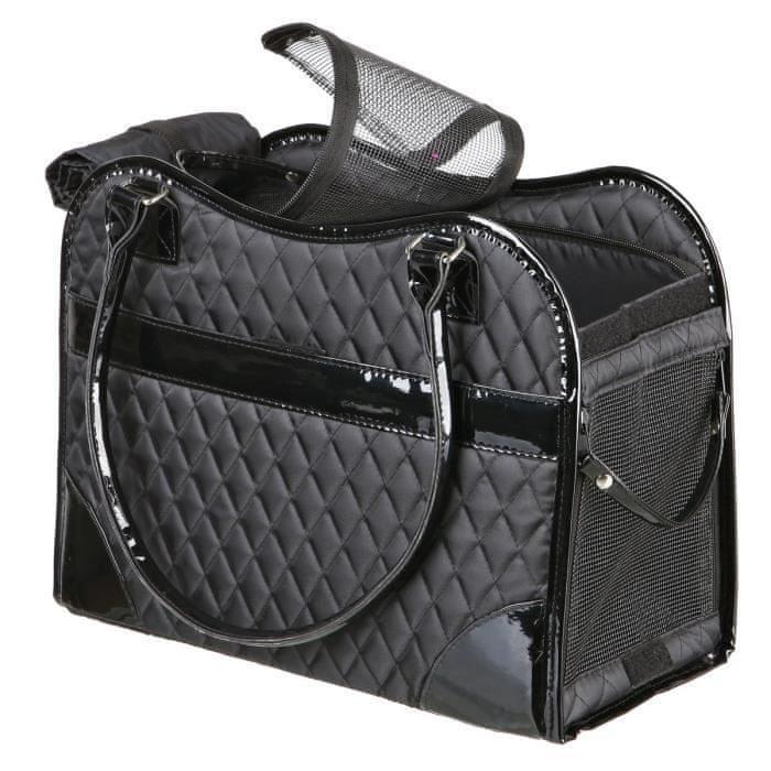 Trixie taška pro psy/kočky Amina černá 37 cm