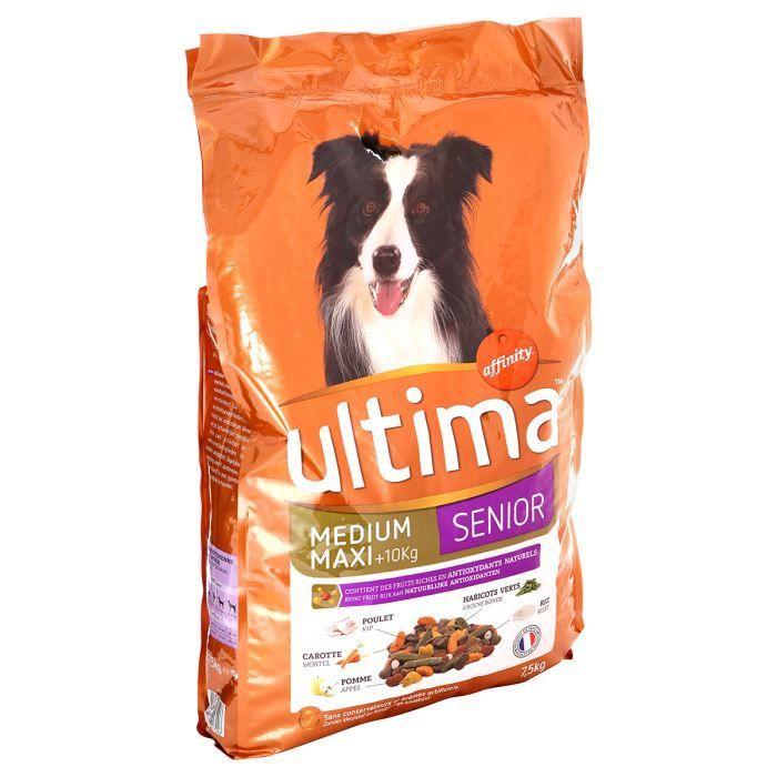 Ultima granule pro psy Ultima Senior 7,5 kg