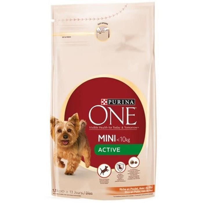 Purina granule pro malé aktivní psy s kuřecím a rýží