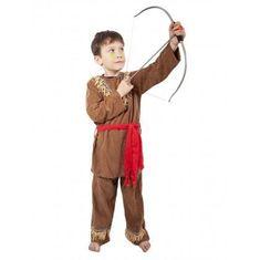 Dětský kostým Indián s šátkem vel. M