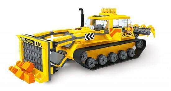 Blocki Blocki stavebnice MyCity Stavba buldozér kompatibilná 250 dielov