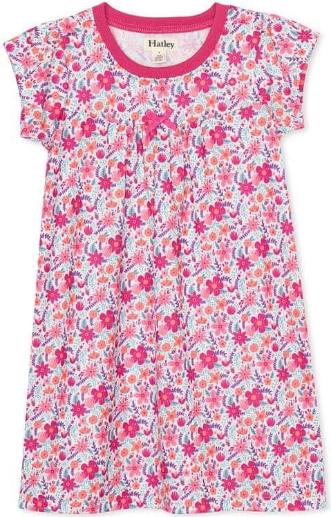 Hatley dívčí noční košile 128, růžová