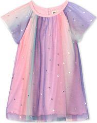 Hatley dekliška obleka, roza, 79–84