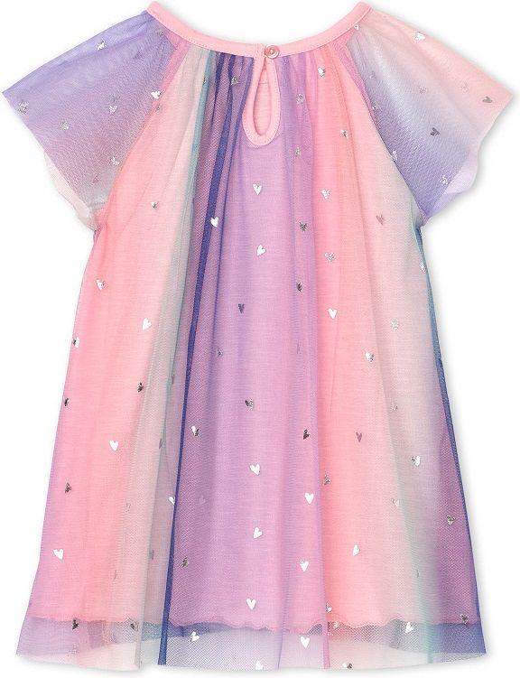 Hatley dívčí šaty 79-84, růžová