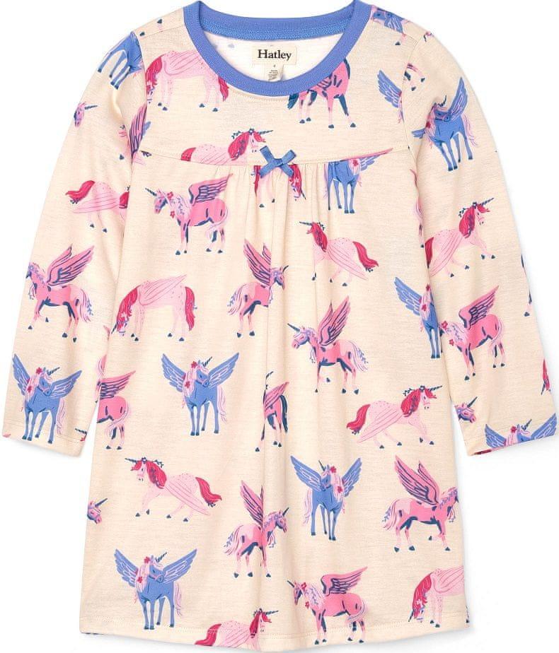 Hatley dívčí noční košile 146, béžová