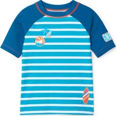 Hatley fiú úszó póló, 104, kék
