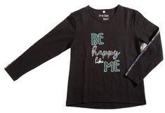 Topo dívčí triko 170 černá