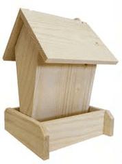 Portoss ptičja hranilnica, lesena, 15 x 15 x 20 cm