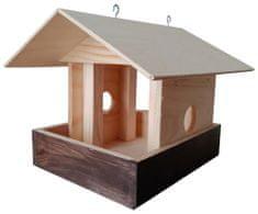Portoss ptičja hranilnica, lesena, 23 x 25 x 20 cm