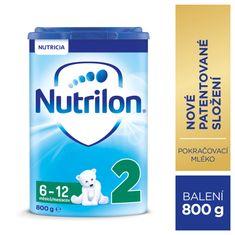 Nutrilon 2 pokračovací kojenecké mléko 800g, 6+
