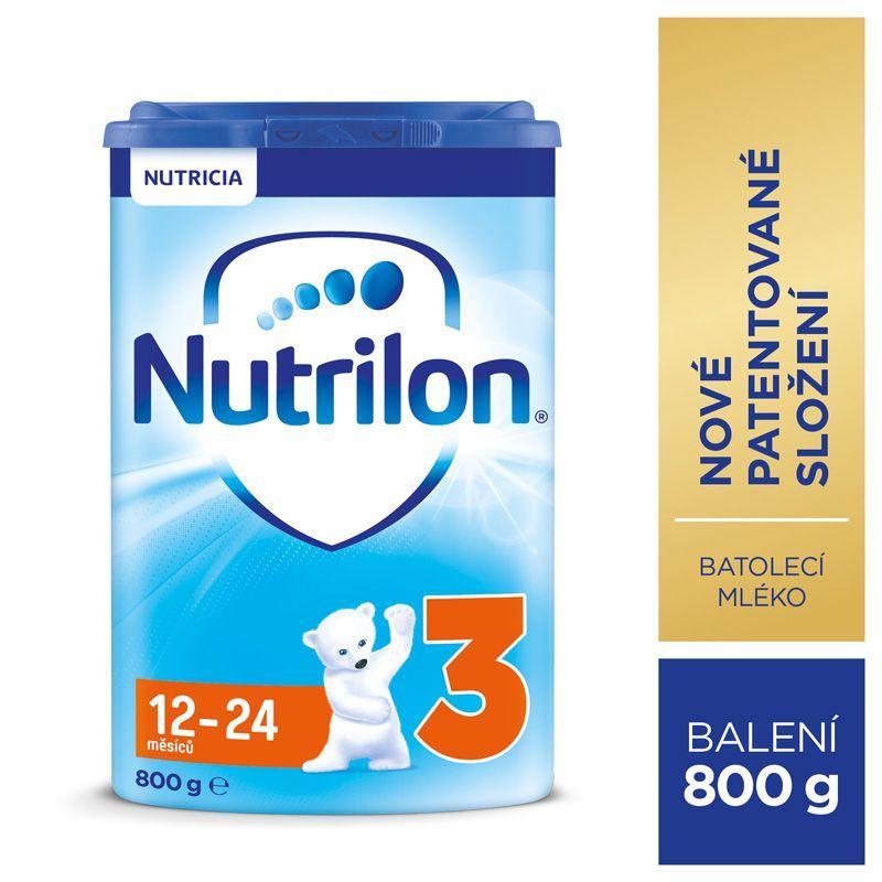 Nutrilon 3 batolecí mléko 800g, 12+