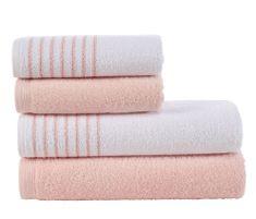 Tip Trade Sada froté ručníků a osušek Davos Pudrová