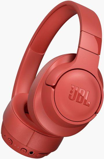 JBL Tune 750BTNC brezžične slušalke, koralno rdeče - Odprta embalaža