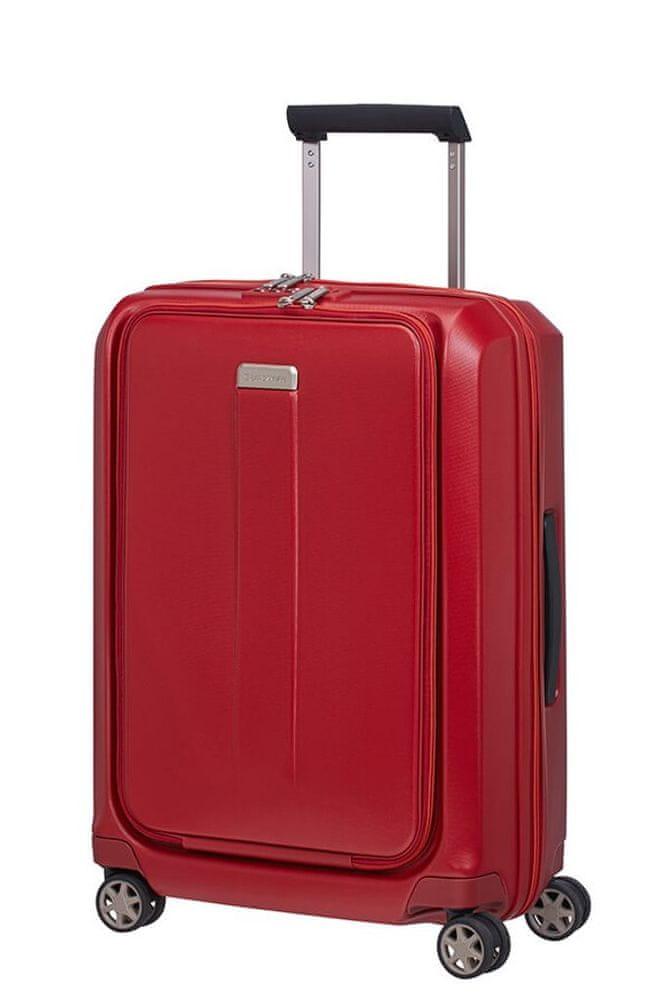 Samsonite Kabinový cestovní kufr Prodigy Spinner S 40 l červená