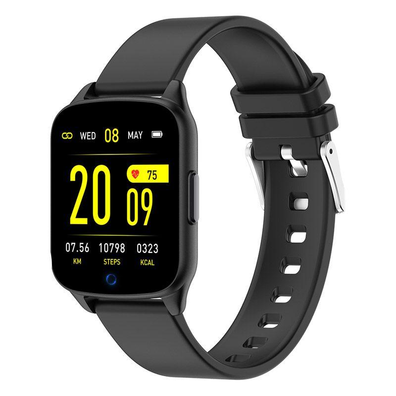 Printwell chytré hodinky F-002, černé