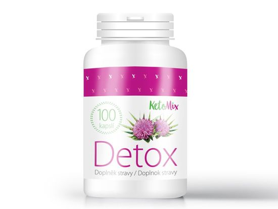KetoMix KetoMix Detox (100 kapslí)
