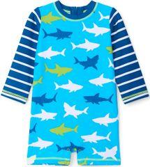 Hatley kisfiú overál strandra, 58-69, kék